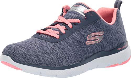 - Skechers Women's Flex Appeal 3.0 - Insiders Navy Coral 8.5 C US
