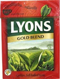 Lyons Gold Label Tea 80 tea bags
