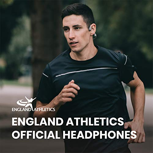 AfterShokz Aeropex Open-Ear Wireless Bone Conduction Headphones with Sport Belt, Lunar Grey