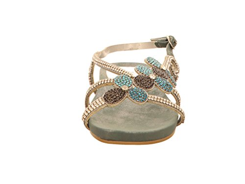 Sandales Bleu Alma femme en 1 Pena 017 pour OCFCxIq