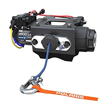OEM Polaris Sportsman 450 HO 570 6x6 X2 Touring PRO HD 3,500 LB. Winch with Rapid Rope Recovery