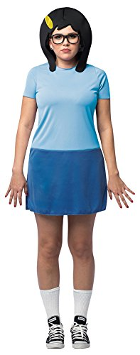 Womens Halloween Costume- Bobs Burgers Tina Adult Costume