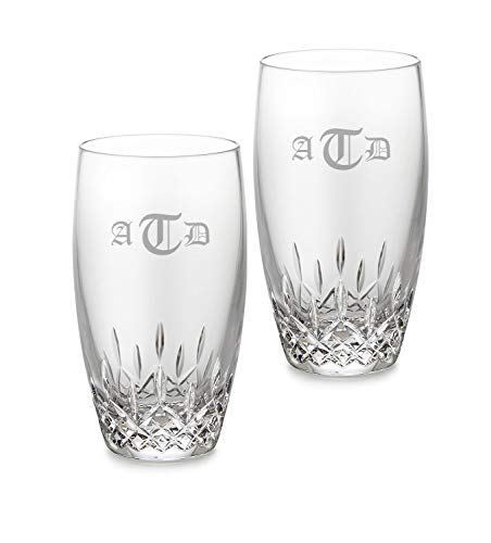 Waterford Personalized Lismore Essence Highball Glasses, Set of 2 ()