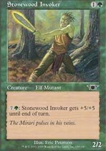 (Magic: the Gathering - Stonewood Invoker - Legions - Foil)
