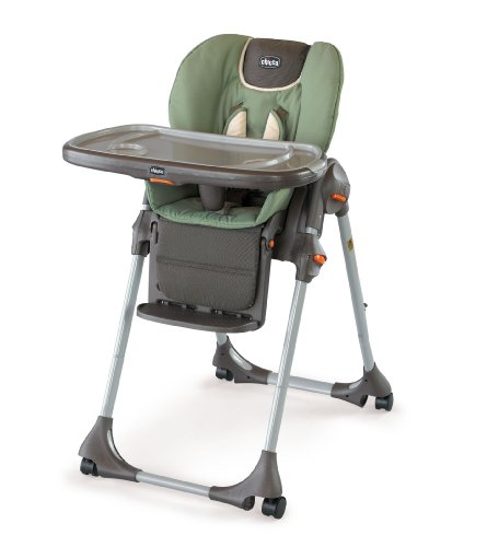 Chicco Polly Double Pad Fabric Highchair, Adventure, Baby & Kids Zone