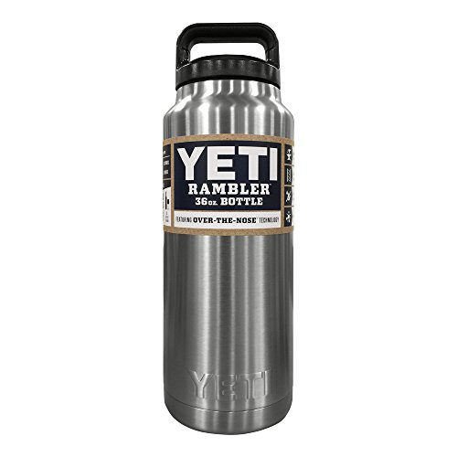 Yeti Rambler Bottle, Stainless Steel , 36 oz