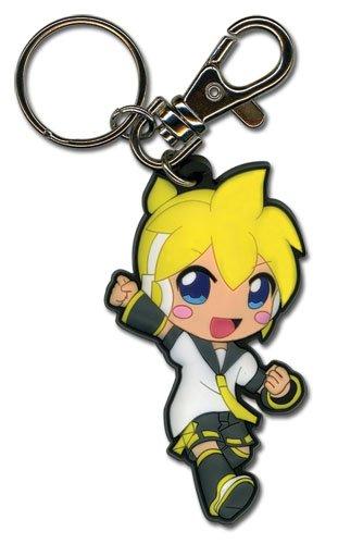 Hatsune Miku Len Pvc Porte-clés Toy Zany