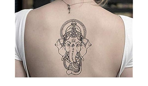 Tatuaje Temporal de Ganesha (2 Piezas) - www.ohmytat.com: Amazon ...