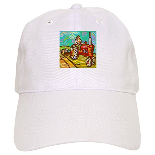 CafePress-Van-Gogh-Tractor-Baseball-Cap-with-Adjustable-Closure-Unique-Printed-Baseball-Hat