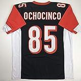 Unsigned Chad Ochocinco Johnson Cincinnati Black Custom Stitched Football Jersey Size Men's XL New No Brands/Logos