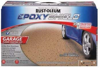 Rust-Oleum Garage Floor Tan Glass Kit