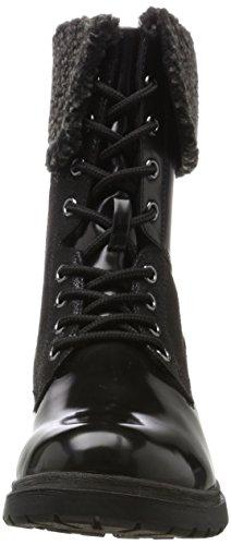 Damen 26204 Tamaris Lack Schwarz Black Stiefel d6q5Pq