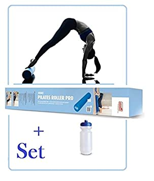 sissel pilates roller pro blue 90 cm with sports bottle set forsissel pilates roller pro blue 90 cm with sports bottle set for beginners and advanced * * new * * amazon co uk sports \u0026 outdoors