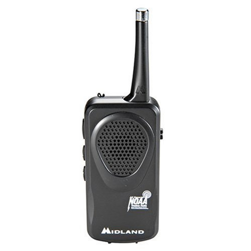 Midland HH50 Pocket Weather Alert Radio - with Nuclear Power