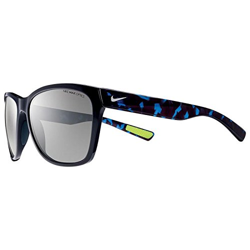 Nike EV0881-042 Vital Sunglasses (One Size), Black/Game Royal Tort, Grey with Silver Flash - Sunglasses 2014 Co And Max