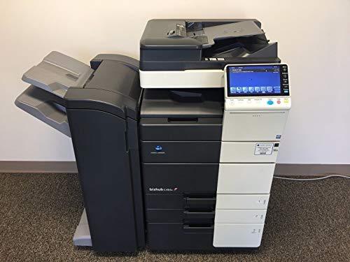 Konica Minolta Bizhub C554e Copier Printer Scanner Network Fax
