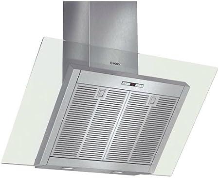 Bosch DWK098E51 - Campana (Canalizado/Recirculación, 740 m³/h, 380 m³/h, Montado en pared, LED, 581 Lux) Acero inoxidable: Amazon.es: Hogar