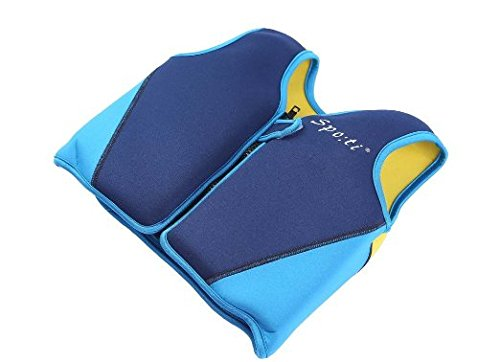 - Titop Infant Baby Swimming Jacket For 6-8 Years Children Swim Vest For Outdoor Sports Blue+Yellow Back Large For Child Between 50-66lbs