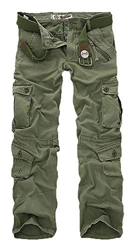 Charge Avec Occasionnel Poches Ranger Quatre Vintage Travail Kahki Diverses En Hommes Pantalon Couleurs Mode Long xqzpXw0I