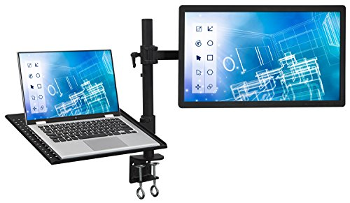 Mount It Mi 3352ltmn Laptop Desk Stand And Monitor Mount