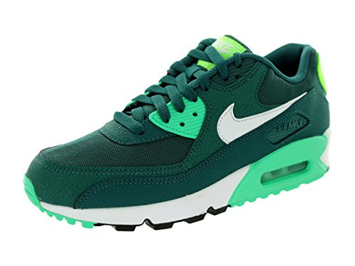 2f82169df4 Nike Women's Air Max 90 Essential Dk Emerald/White/Menta/Flsh Lm Running  Shoe 10 Women US - Buy Online in Oman.   Apparel Products in Oman - See  Prices, ...