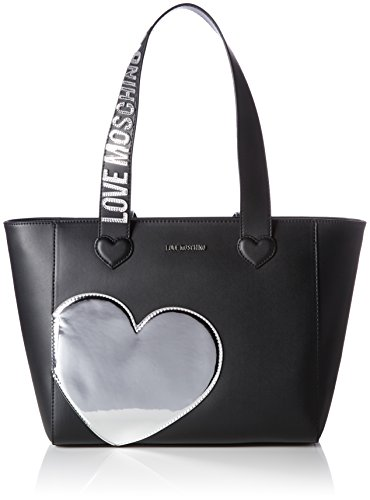 LOVE MOSCHINO JC4037PP14 Shopper Mujer Varios colores (Black/silber)