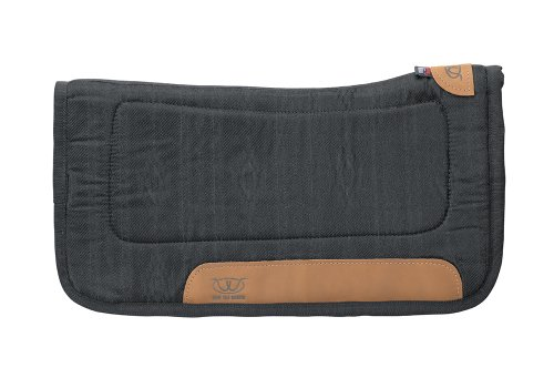 weaver-leather-tacky-tack-all-purpose-contoured-saddle-pad-black