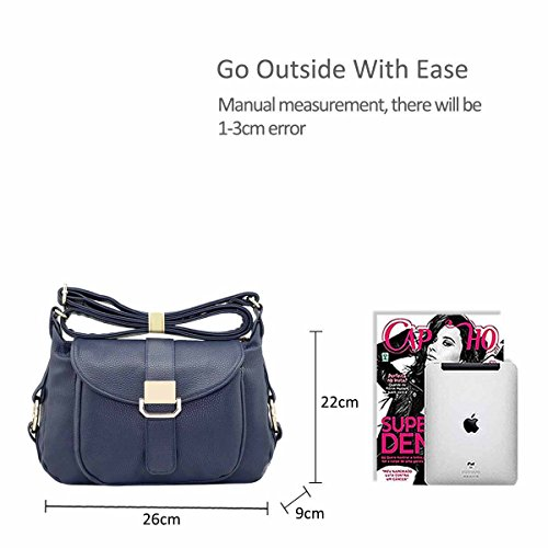 Modern Navy Bag Trendy Bag Blue NICOLE Bag Crossbody Hand Ladies Popular Bag amp;DORIS B for Khaki Woman Shoulder FqZxZ0gR