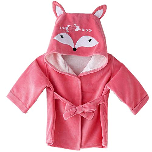 Baby Girl Bathrobes Wash Waddle Cute Hooded Robe Girls Bath Robe Towel Soft Cotton Ultra Absorbent