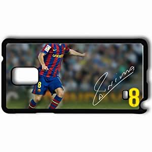 Personalized Samsung Note 4 Cell phone Case/Cover Skin Andres iniesta barca barcelona andres iniesta barcablog Black by lolosakes