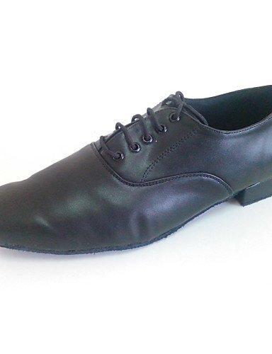 ShangYi Keilabsatz - Leder - Latin/Modern/Salsa/Standard-Tanz Schuhe - Herren Black