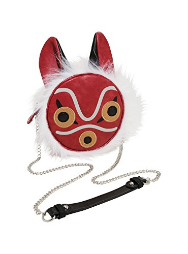 Studio Ghibli Princess Mononoke San Mask Crossbody Bag