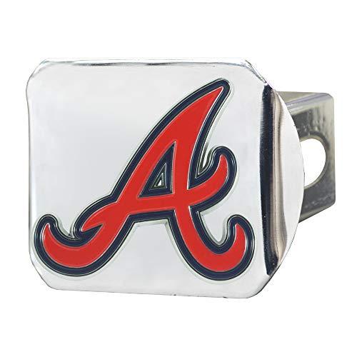 Braves Rug - FANMATS MLB - Atlanta Braves Color Hitch - Black