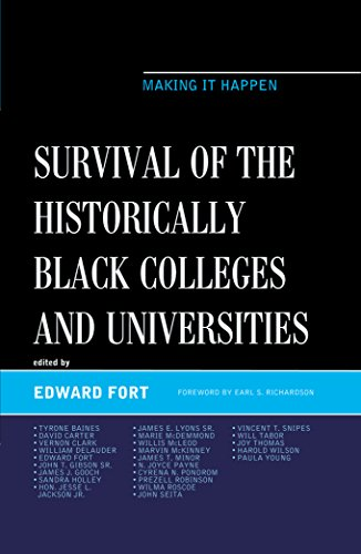 Search : Survival of the Historically Black Colleges and Universities: Making it Happen (The Africana Experience and Critical Leadership Studies)