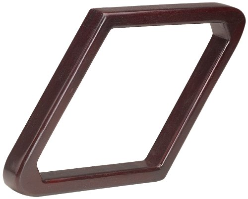 Wooden 9 Ball Diamond (Pro Series TR9HD-C Heavy Duty Wooden Billiard Ball 9-Ball Diamond Rack, Cherry)