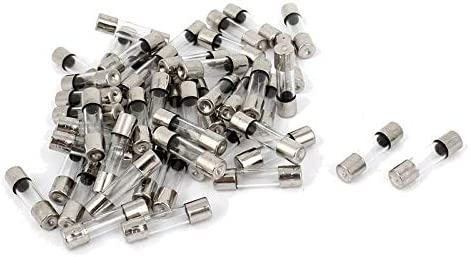 0.19 x 0.78 Inch Fast-melting glass fuse 0.1A-20A 150PCS Glass Fuse kit 15 values 250V 5x20mm
