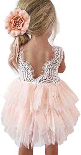 Topmaker Backless line Flower Dress product image