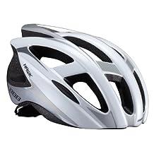 2014 BBB Mens BHE-27 Hawk Helmet White Large 58-63cm