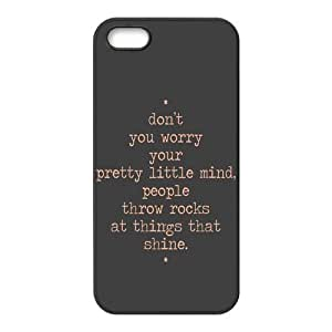 the Case Shop- Taylor Swift Quotes Singer TPU Rubber Hard Back Case Silicone Cover Skin for iPhone 5 and iPhone 5S , i5xq-482