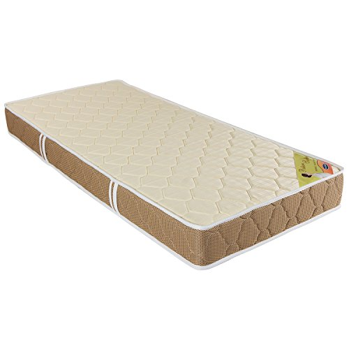 Englander Posture Support Bonnell Spring 7.5 Inches Thick Single Size Mattress  Off White, 72 X 36 X 7.5