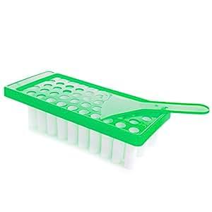 Milliard Lip Balm Crafting Kit – Includes Lip Balm Pouring Tray & 50 White 0.15oz (4.25g) Balm Tubes
