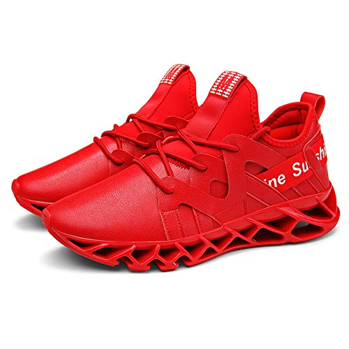 GAOXP GAOXP GAOXP Männer Sports Casual Running schuhe Walking Jogging Gym Turnschuhe leichte Breathable Fashion Trainer,rot,43 d5d60b