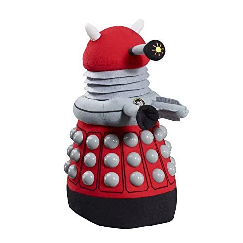 """Underground Toys Doctor Who Deluxe Dalek Plush, Red, 15"""""""