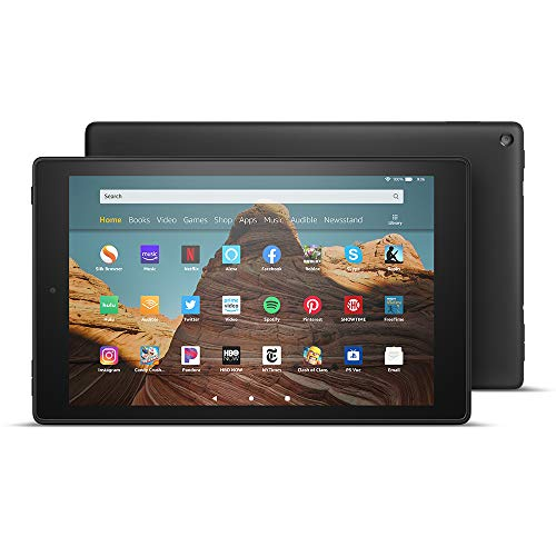 All-New Fire HD 10 Tablet (10.1″ 1080p full HD display, 32 GB) – Black