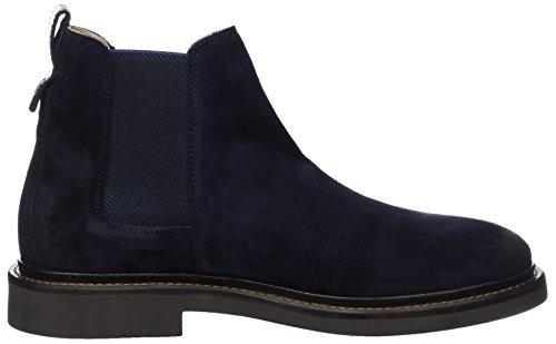 Marc OPolo Herren Flat Heel Chelsea 70824105001304 Boots Blau (Navy)