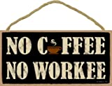 (US) (SJT94128) No coffee No workee (cup graphic) 5