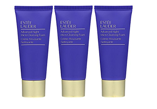 3x Estee Lauder Advanced Night Micro Cleansing Foam (30ml/1oz) EACH => 3OZ TOTAL (Estee Eye Mask)