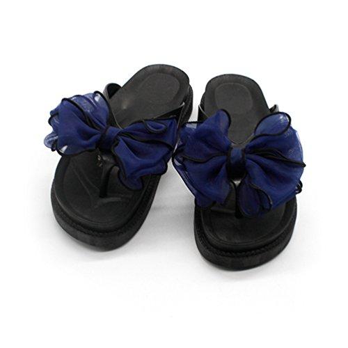 Jitian Ballerine Bleu Foncé Ballerine Donna Jitian rqwpr810