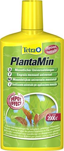 Tetra PlantaMin Universaldünger (flüssiger Eisen-Intensivdünger für prüchtige und gesunde Wasserpflanzen, wirkt bis zu 4 Wochen), 500 ml Flasche