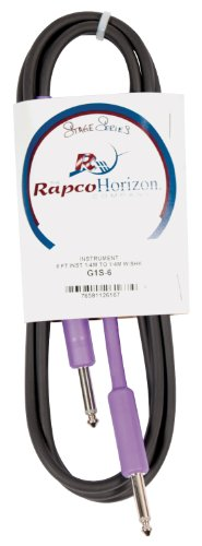 RapcoHorizon G1S-6 6 Ft. Players Series Guitar Cable
